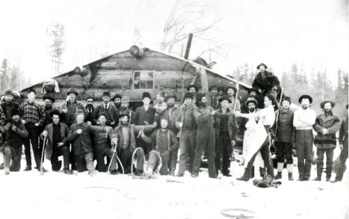 Gus Sexton's Lumber Camp